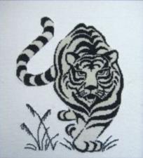 Тигр. Размер - 24 х 31 см.