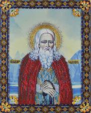 Икона преподобного Германа Аляскинского. Размер - 21 х 26,5 см.