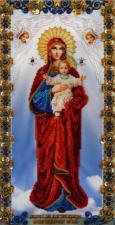 """Икона Божией Матери """"Благодатное небо"""". Размер - 22 х 43 см."""