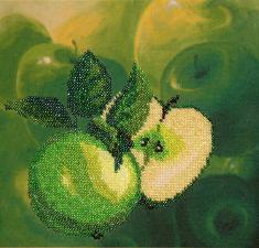 Фрукты.Яблоки. Размер - 20 х 20 см.