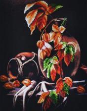 Осенний натюрморт. Размер - 28 х 36 см.