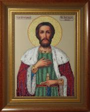 Святой Александр. Размер - 24,8 х 33,7 см.