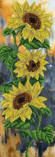 Цветок солнца. Размер - 18,8 х 51,9 см.