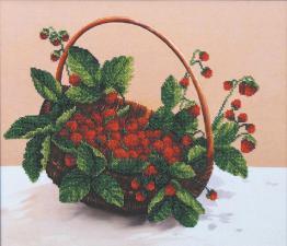 Лесная ягода. Размер - 36,5 х 31,5 см.