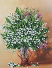 Весенняя ваза. Размер - 33,5 х 44 см.