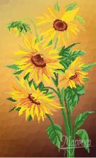 Цветы солнца. Размер - 31 х 50 см.