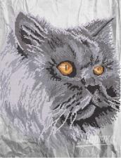 Кошачий взгляд. Размер - 31 х 40 см.