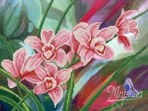 Музыка орхидей. Размер - 35 х 26 см.