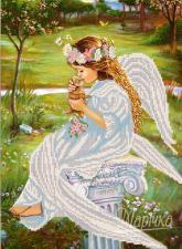 Поцелуй ангела. Размер - 26 х 35 см.