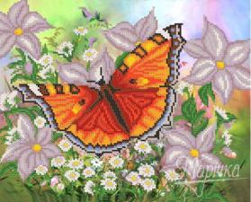 Крылатый цветок. Размер - 32 х 26 см.