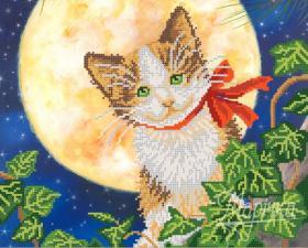 Лунный кот. Размер - 33 х 26 см.