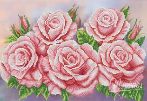 Розовый аромат. Размер - 37 х 25 см.