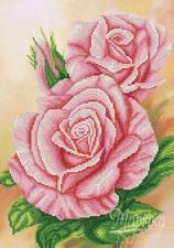 Сладкий запах роз. Размер - 25 х 36 см.