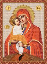 Богородица Почаевская. Размер - 18 х 25 см.