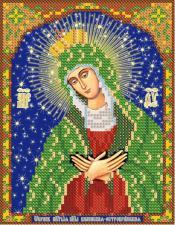 Икона Божией Матери Остробрамская-Виленская. Размер - 13 х 16 см.