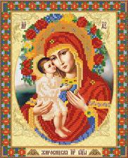 Жировицкая икона Божией Матери. Размер - 18 х 23 см.