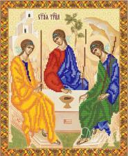 Икона Святая Троица. Размер - 26 х 32 см.
