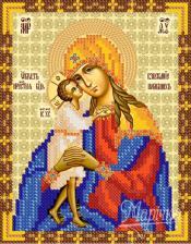 """Икона Божьей Матери """"Взыскание погибших"""". Размер - 13 х 16 см."""