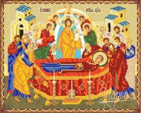 Успение Пресвятой Богородицы. Размер - 33 х 26 см.