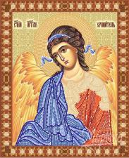 Ангел Хранитель. Размер - 18 х 23 см.
