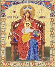 Пресвятая Богородица Державная. Размер - 26 х 32 см.