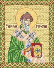 Св. Спиридон Тримифунтский. Размер - 18 х 23 см.