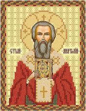Св. Анатолий,Патриарх Константинопольский. Размер - 13 х 16 см.