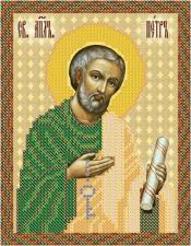 Св. Апостол Петр. Размер - 13 х 16 см.