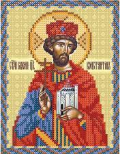 Св. Равноап. Царь Константин. Размер - 13 х 16 см.