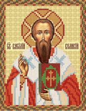 Святой Василий Великий. Размер - 13 х 16 см.