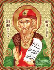 Св. Ярослав Мудрый,князь. Размер - 13 х 16 см.