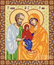 Св. пр. Иоаким и Анна. Размер - 18 х 22 см.