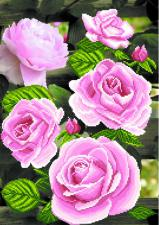 Цветы любви. Размер - 49 х 37 см.