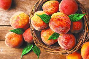 Райские персики. Размер - 49 х 37 см.