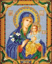 Богородица Неувядаемый Цвет. Размер - 20 х 24 см.