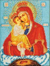 Богородица Почаевская. Размер - 20 х 27 см.
