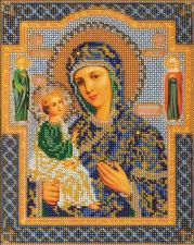 Иерусалимская Богородица. Размер - 20 х 24 см.