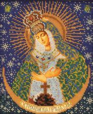 Остробрамская Богородица. Размер - 20 х 24 см.
