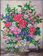 Вальс цветов. Размер - 27 х 35 см.