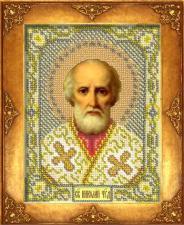 Св.Николай Чудотворец. Размер - 12,5 х 16,3 см