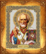 Святой Николай. Размер - 18 х 22,5 см.