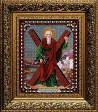 Икона Андрея Первозванного. Размер - 28,1 х 35,7 см.