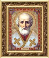 Св.Николай Чудотворец. Размер - 17,3 х 23,5 см