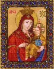 Икона Божьей Матери Вифлеемская. Размер - 15,6 х 20,2 см.