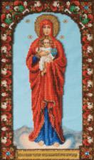 Икона Божией Матери Валаамская. Размер - 17,1 х 29,1 см.
