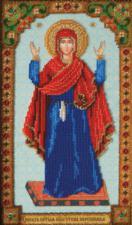 Икона Божией Матери Нерушимая стена. Размер - 17,1 х 28,9 см.