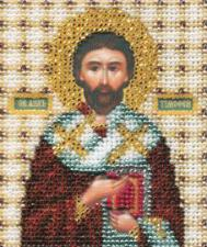 Икона св. апостол Тимофей. Размер - 9 х 11 см.