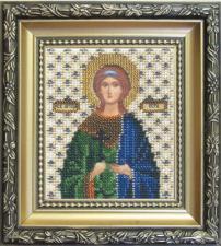 Икона св. Вера. Размер - 9 х 11 см.