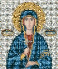 Икона св. Зоя. Размер - 9 х 11 см.