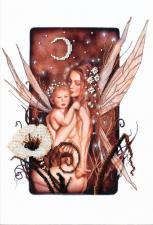 Мать и дитя. Размер - 21,5 х 31,5 см.